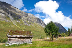 Norway - farm house Stock Images