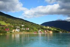 Norway fiord Stock Photo