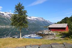 Norway fiord Stock Image