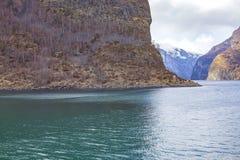 norway Fjord de Sognefjord image libre de droits