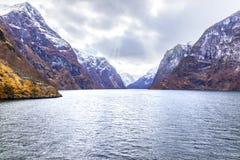 norway Fjord de Sognefjord photographie stock libre de droits