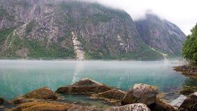 Norway Fjord - Eidfjord Stock Images