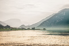Norway Fjord Stock Image