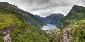 Norway fjord Geiranger Royalty Free Stock Images