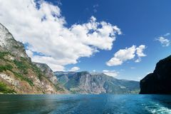 Norway Fjord Scenic Stock Photo