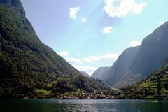 Norway Fjord Scenic Stock Photos