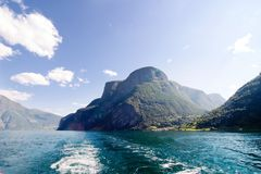 Norway Fjord Scenic Royalty Free Stock Photography