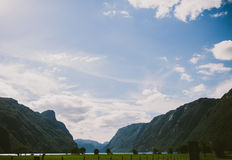 Norway Fjords Royalty Free Stock Photo