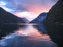 Norway fjords Stock Photo