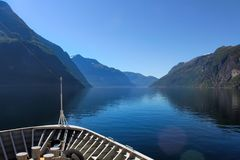 Norway Fjords view royalty free stock photography