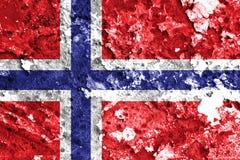 Norway flag Royalty Free Stock Photos