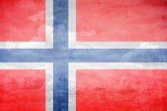 Norway flag illustration. Norway flag vintage sky illustration vector illustration