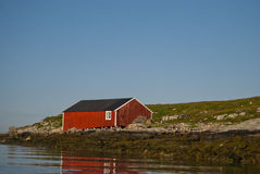 Norway Froya. Froya house view in Norway Royalty Free Stock Photo