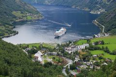 Norway - Geiranger Royalty Free Stock Images