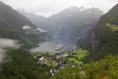 Norway Geiranger Fjord Stock Images