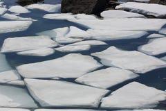 Norway glacier lake Royalty Free Stock Photos