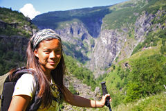 Norway hiking Royalty Free Stock Photography
