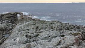 Norway island Averoy landscape video Stock Image