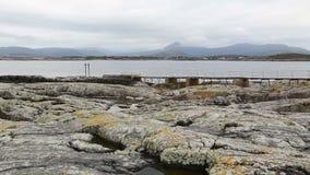 Norway island Averoy landscape video Royalty Free Stock Photos