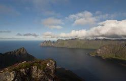 Norway, island Senja Royalty Free Stock Images
