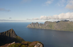 Norway, island Senja Royalty Free Stock Image