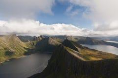 Norway, island Senja Stock Photography