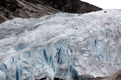 Norway, Jostedalsbreen National Park. Famous Briksdalsbreen glac Royalty Free Stock Photography