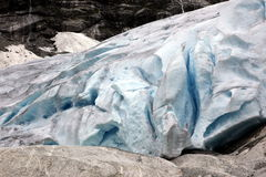Norway, Jostedalsbreen National Park. Famous Briksdalsbreen glac Royalty Free Stock Images
