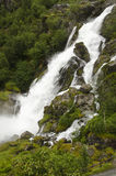 Norway - Jostedalsbreen National Park - Waterfall. Europe travel destination Royalty Free Stock Photo