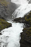 Norway: kjosfossen waterfall Stock Image