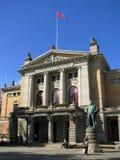 norway krajowy teatr Oslo zdjęcie stock