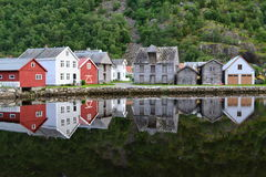 Norway Laerdalsoyri Royalty Free Stock Photography