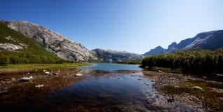 Norway Lake Landscape Royalty Free Stock Images