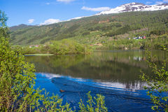 Norway Lake Stock Photography