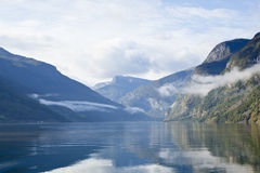 norway: landcape at sognefjord Stock Photos
