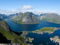 Norway landscape Royalty Free Stock Images