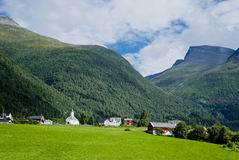 Norway landscape. Norway, beautiful uncontamined mountain landscape Stock Images