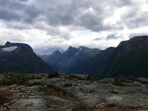 Norway landscape Andalsnes Nesaksla Royalty Free Stock Photos