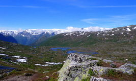 Norway landscape Royalty Free Stock Image