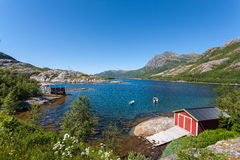 Norway landscape. Royalty Free Stock Images