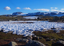 Norway landscape and mountains Stock Photography