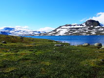 Norway landscape and mountains Royalty Free Stock Image