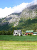 Norway landscape. Nature scene vertical Stock Photography