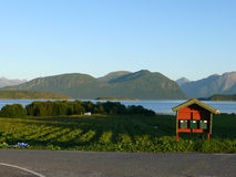 Norway landscape Nesjestranda Royalty Free Stock Photography