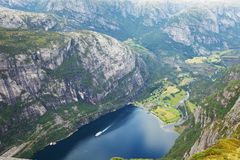 Norway landscapes Royalty Free Stock Photo