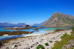 Norway lofoten island Stock Photos