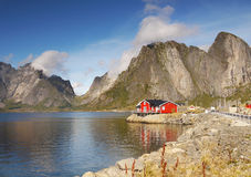 Norway Lofoten Landscape Stock Images