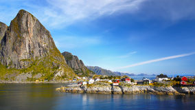 Norway Lofoten Landscape Stock Photos