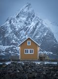 Norway, Lofoten symmetry stock images