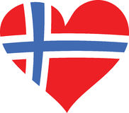 Norway Love Royalty Free Stock Image